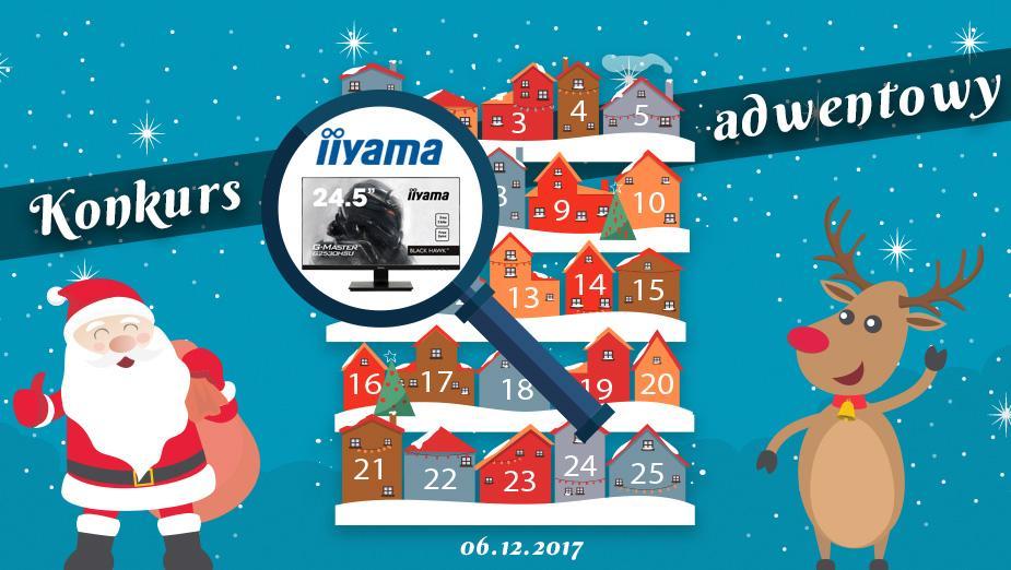 Konkurs Adwentowy 2017 - Dzień #6 iiyama - Wyniki