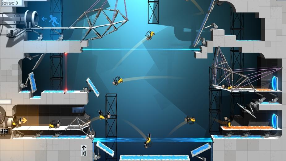 Kultowy Portal powraca pod postacią Bridge Constructor Portal