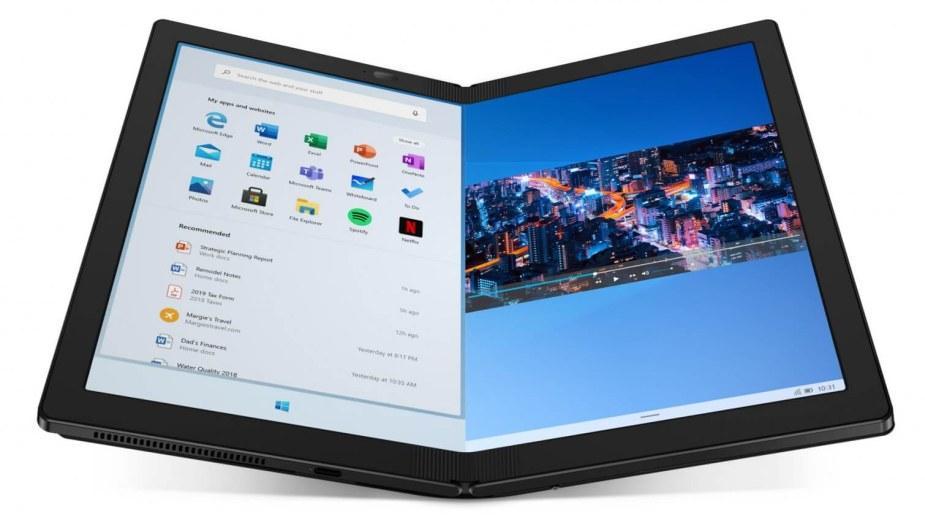 """Lenovo X1 Fold - """"pierwszy na świecie"""" składany komputer w cenie..."""