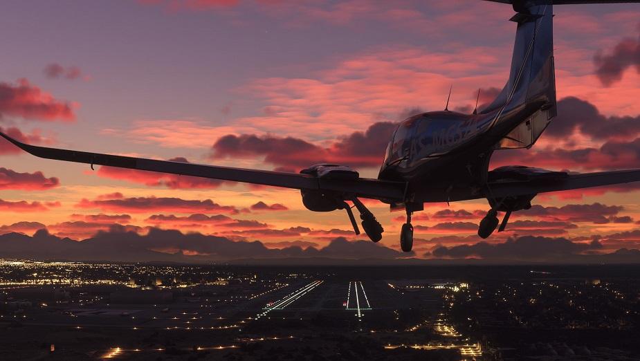 Microsoft Flight Simulator - rozmiar instalacji skurczył się ze 170 GB do 83 GB