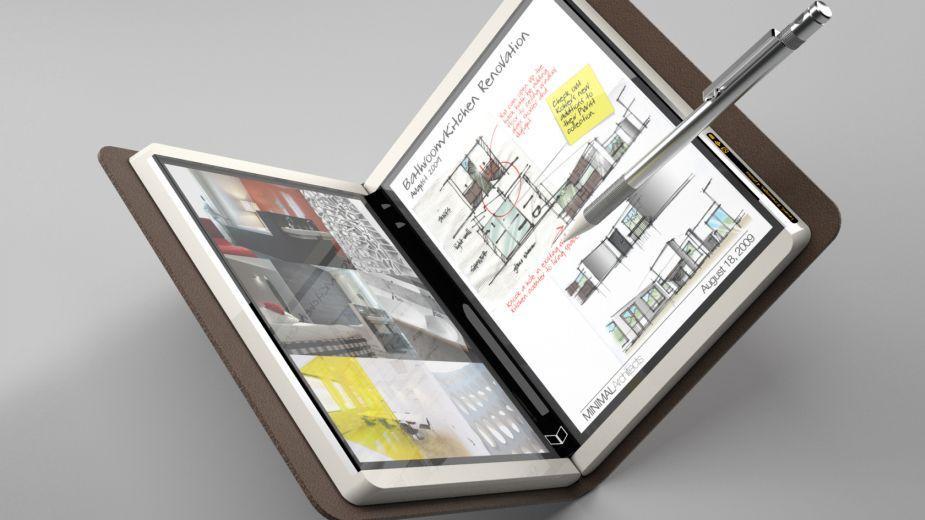 Microsoft podobno szykuje składany tablet w stylu Couriera
