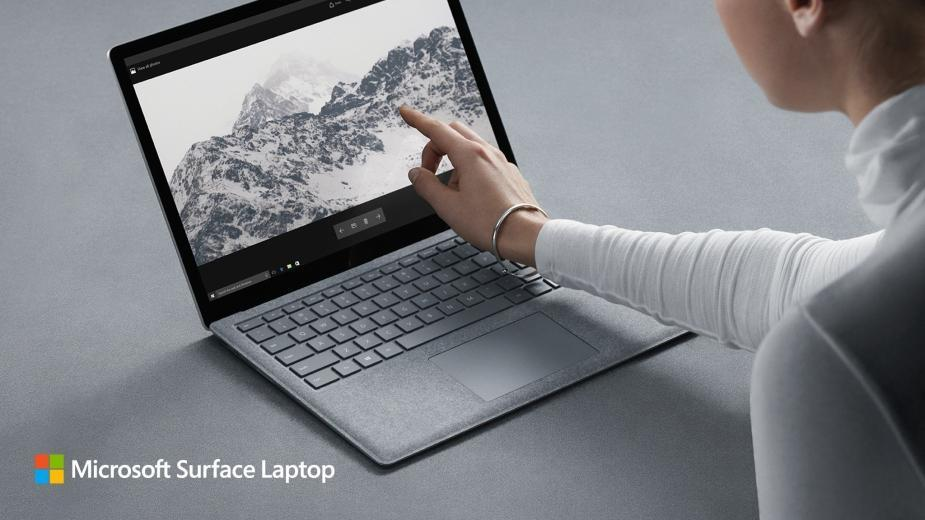Microsoft Surface Laptop w wersji dla oszczędnych, z procesorem Core m3