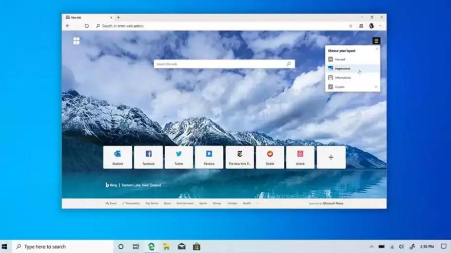 Microsoft ujawnia funkcje dla Edge. Przeglądarka ma startować szybciej