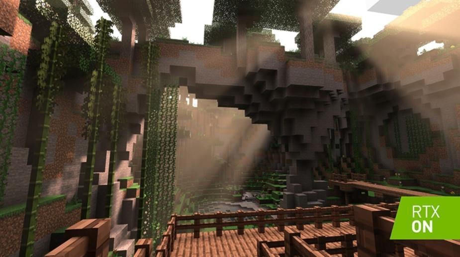 Minecraft RTX ma działać w 1080p i 60 fps z NVIDIA GeForce RTX 2060