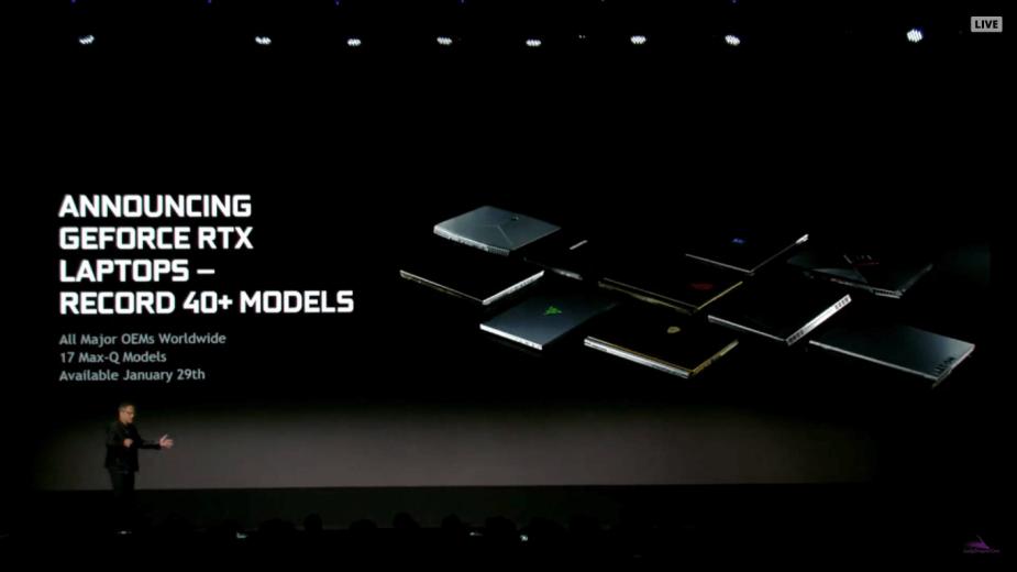 Mobilne grafiki GeForce RTX oficjalnie. Ray-tracing trafia do laptopów