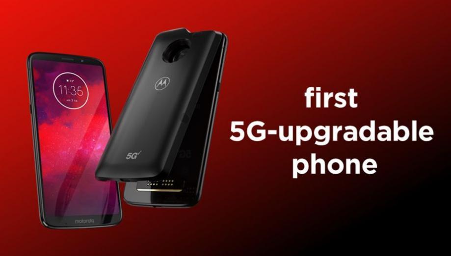Motorola zapowiada smartfon Moto Z3 ze wsparciem dla modułu 5G