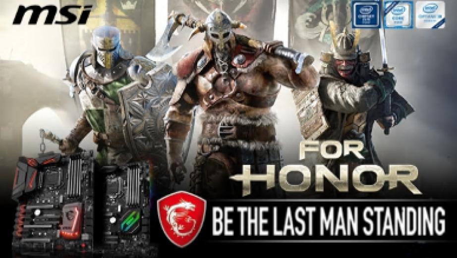 MSI dołącza For Honor do wybranych płyt głównych i desktopów