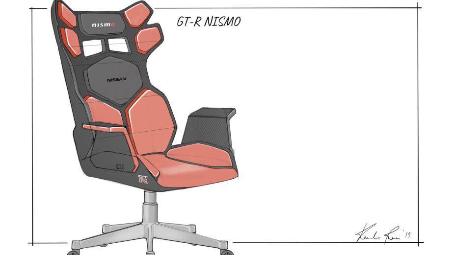 Nissan prezentuje projekty własnych foteli dla graczy