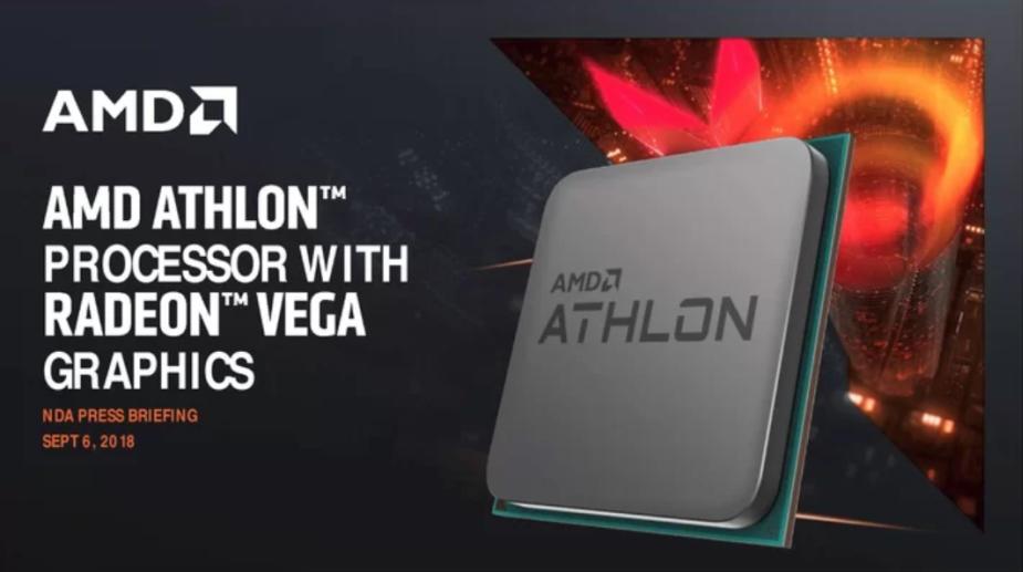 Nowe Athlony to tanie procesory AMD z CPU Zen i GPU Vega