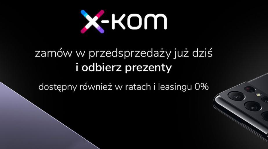 Nowe flagowce Samsunga przedstawione. Rusza przedsprzedaż serii Galaxy S21 5G w x-kom