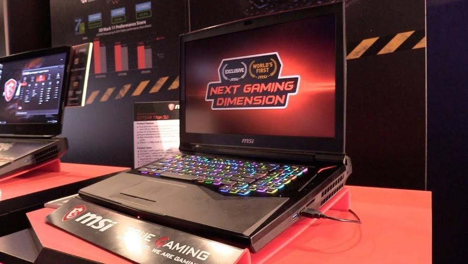 Nowe laptopy MSI GT75VR Titan, GE63VR/73VR Raider, GS63VR/73VR Stealth Pro