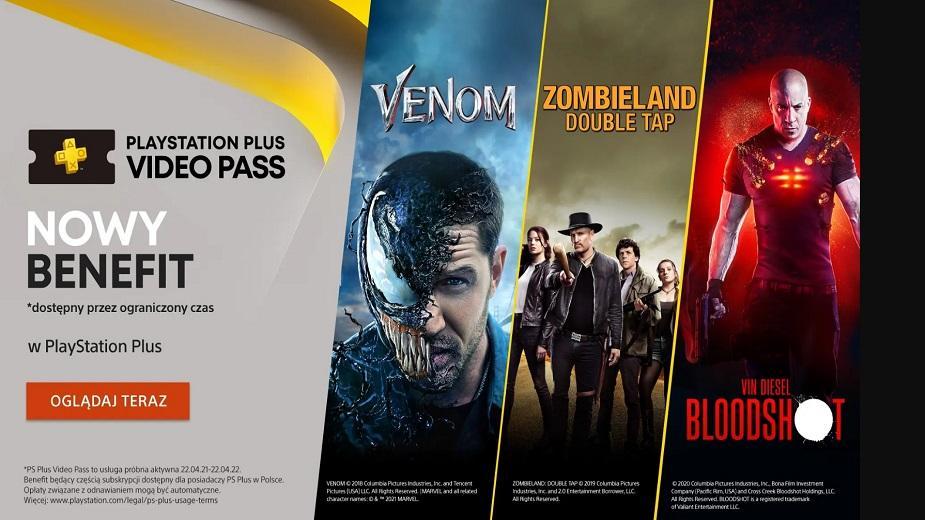 PlayStation Plus Video Pass - nowy benefit, który debiutuje wyłącznie w Polsce