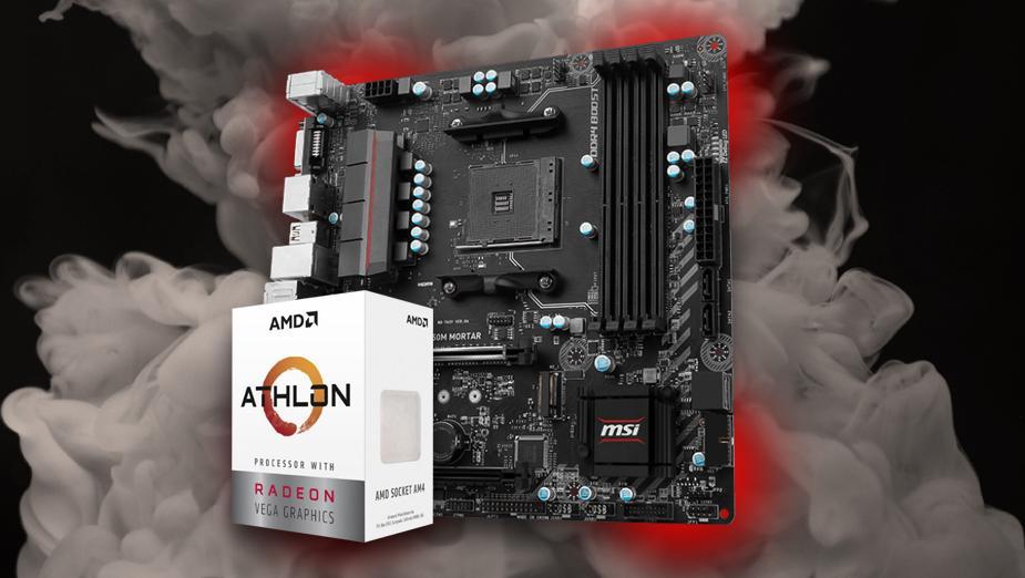 Podkręcanie AMD Athlon 200GE na płycie MSI B350M MORTAR - test
