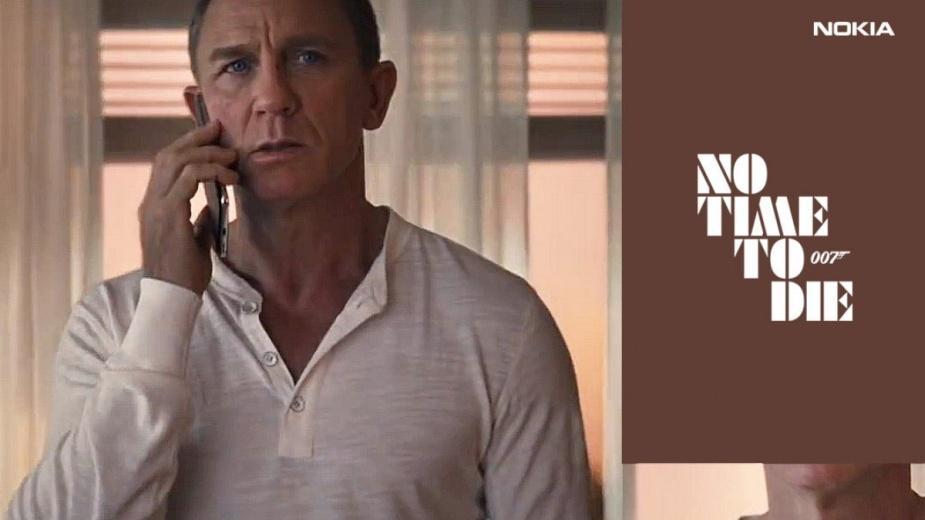 Premiera No Time To Die, nowego filmu o 007 znów opóźniona. Tym razem winna zbyt stara... Nokia