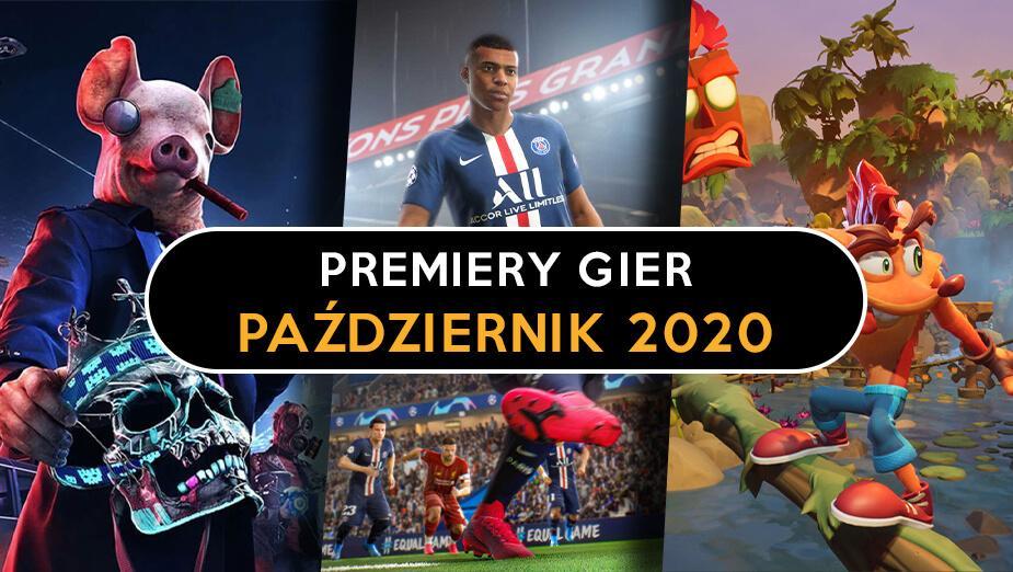 Premiery gier – Październik 2020
