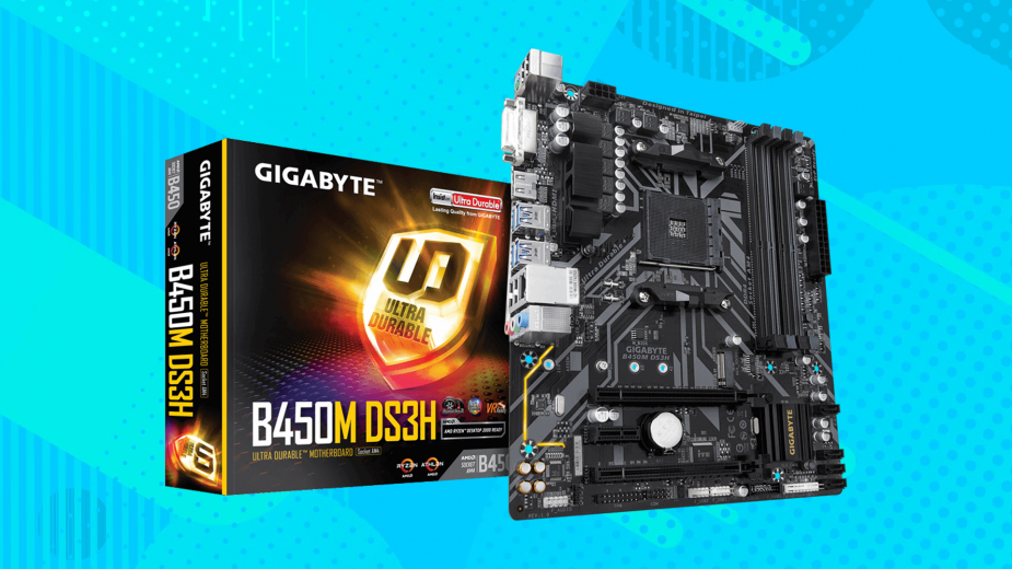 Prezentacja Gigabyte B450M DS3H