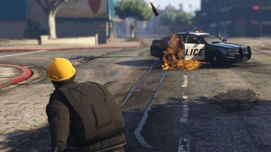 Protestujący w Hongkongu powodują chaos w Grand Theft Auto V