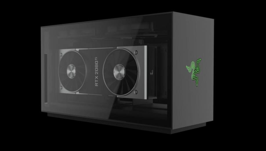 Razer Tomahawk to kompaktowy modularny PC dla graczy, który bazuje na NUC