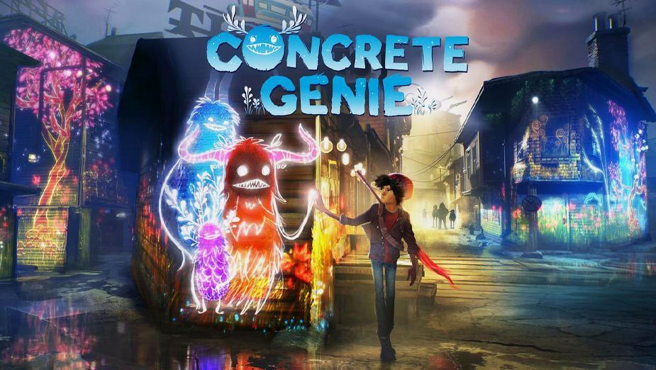 Recenzja Concrete Genie – chłopiec i wesoły diabeł kontra świat