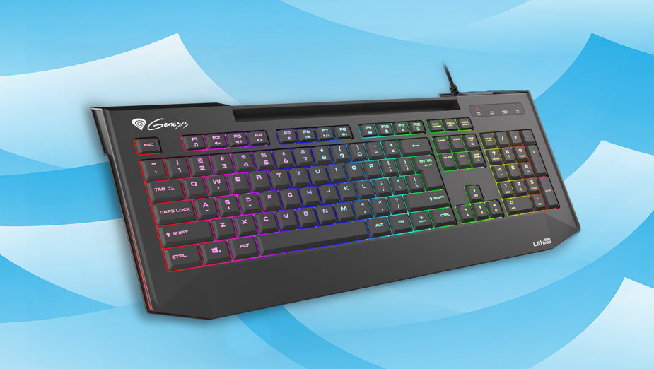 Recenzja Genesis Lith 400 RGB - nożycowej klawiatury typu low profile dla graczy