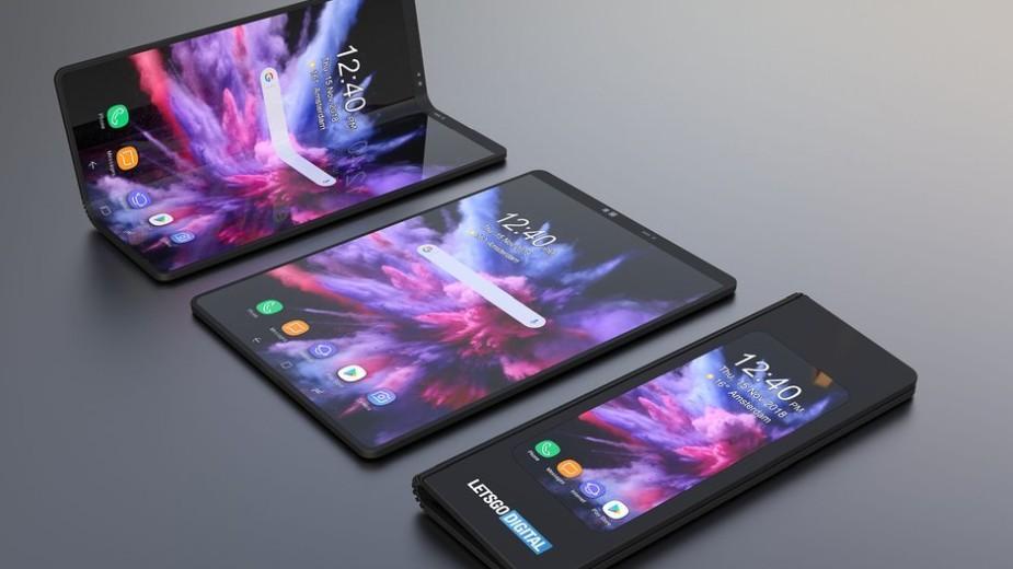 Rozkładany Samsung Galaxy F ma kosztować tyle co 2 smartfony premium