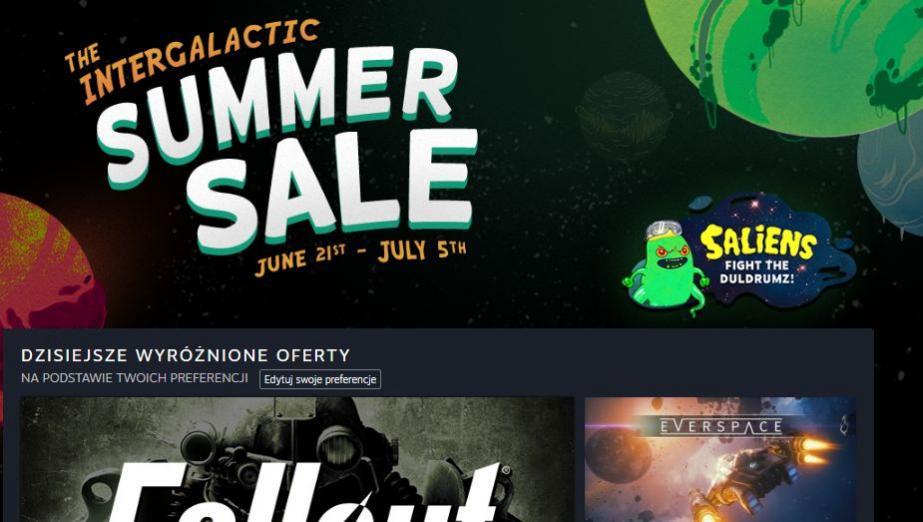 Ruszyła letnia wyprzedaż Steam. Duże przeceny, mnóstwo gier