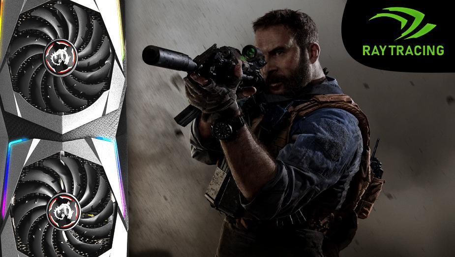 Rzut oka na śledzenie promieni w Call of Duty: Modern Warfare (2019)