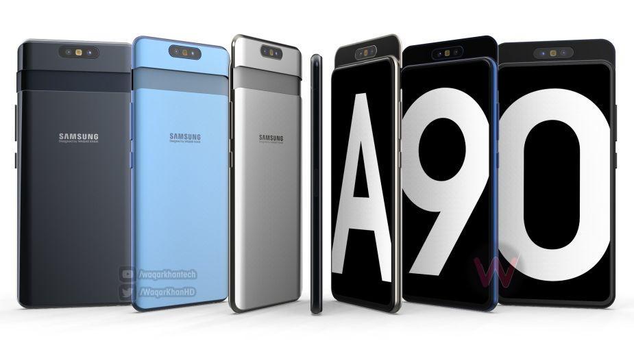 Samsung Galaxy A90 z rozsuwaną konstrukcją i obrotowym aparatem