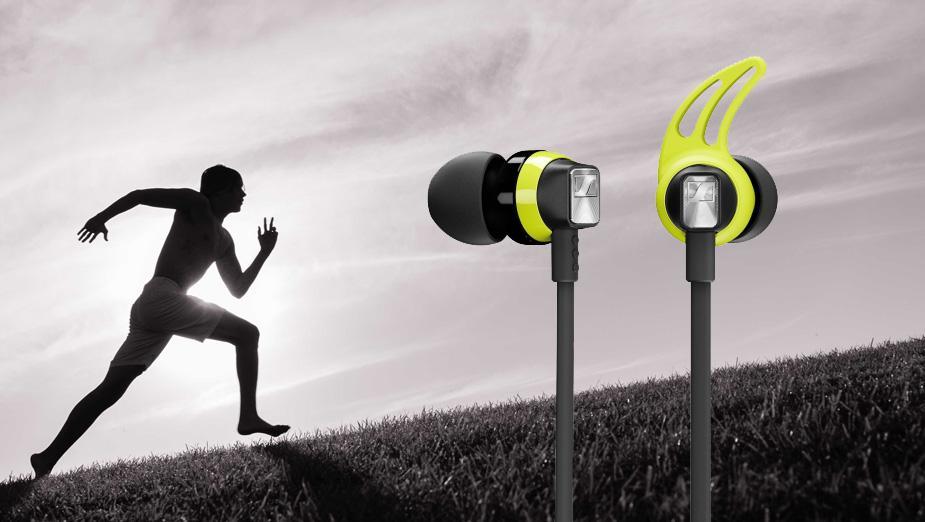 Sennheiser CX SPORT - bezprzewodowe słuchawki dokanałowe dla aktywnych