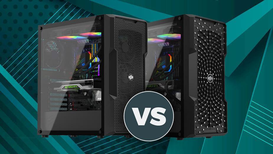 SilentiumPC Regnum RG6V TG czy Astrum AT6V TG - która obudowa jest lepsza i czym się różnią?