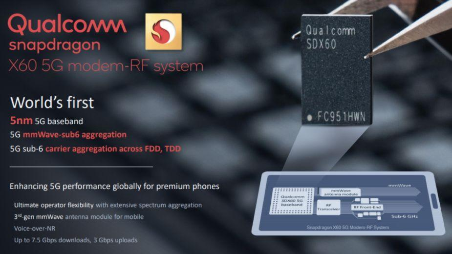Snapdragon X60 - Qualcomm zapowiada 5 nm modem 5G