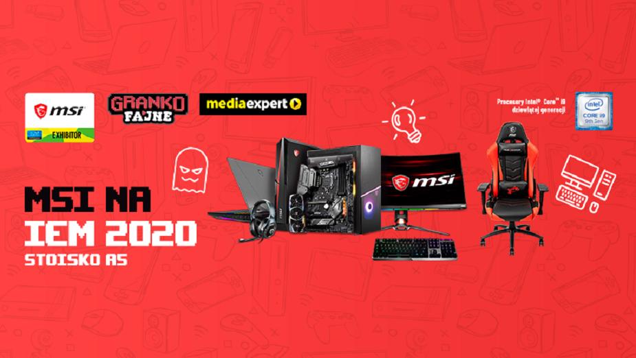 Streamerzy, nowe laptopy i monitory – MSI na Intel Extreme Masters 2020