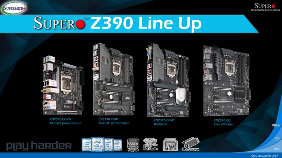 Super Micro prezentuje płyty SuperO Z390 wraz z flagowcem do podkręcania