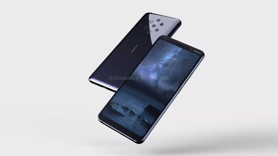 Tak wygląda Nokia 9 z pięcioma aparatami z tyłu w pełnej krasie