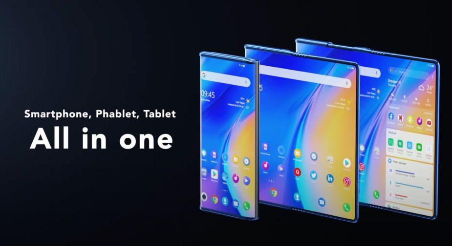 TCL Fold 'n Roll to jednocześnie składany i rozwijany smartfon