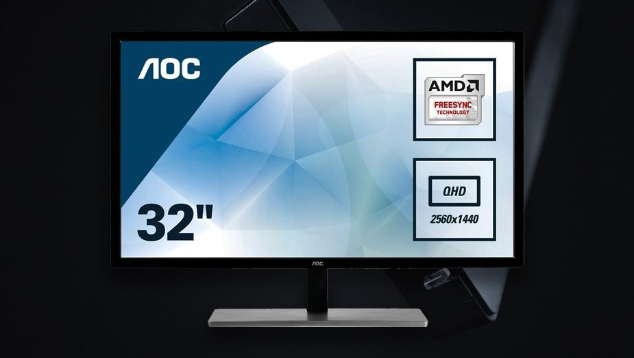 Test AOC Q3279VWF - 32 cale, 1440p, 75 Hz i FreeSync za 799 zł!