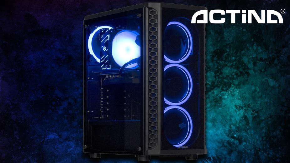 Test komputera Actina SG1X z Ryzenem 5 2600 oraz GeForce GTX 1660