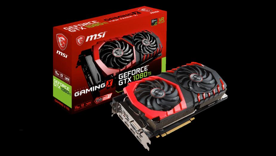 Test MSI GeForce GTX 1080 Ti Gaming X 11G