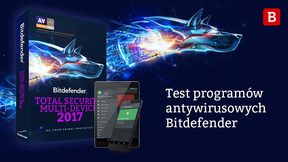 Test pakietu Bitdefender Total Security Multi-Device 2017