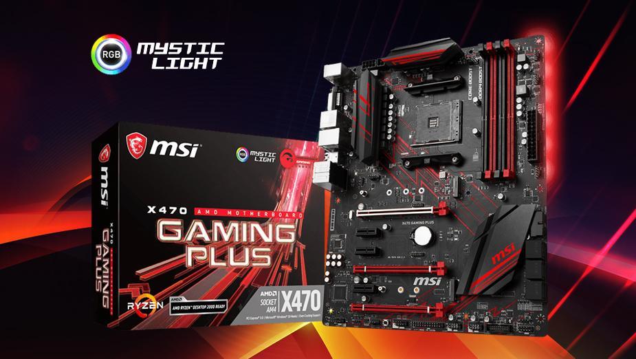 Test płyty głównej MSI X470 GAMING PLUS
