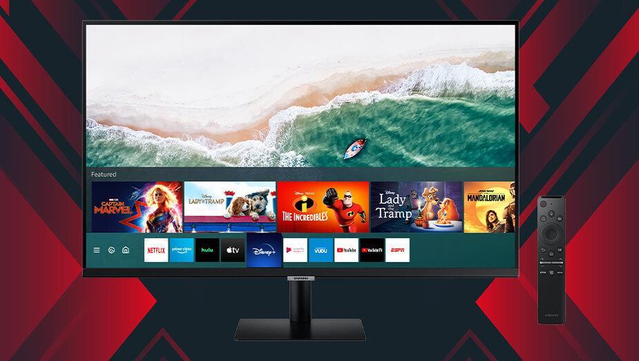 Test Samsung M7 Smart Monitor - monitor niczym smart TV