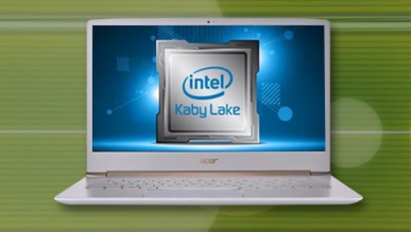 Test ultrabooka Acer Swift 5: i7-7500U Kaby Lake vs i7-6500U Skylake