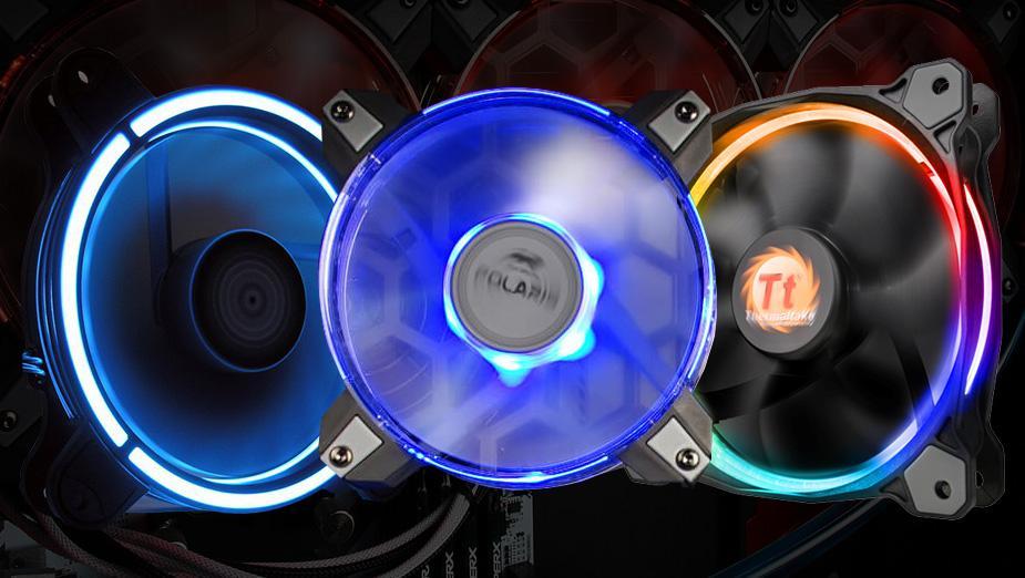 Test wentylatorów RGB - InWin, LC-Power, Thermaltake, Inter-Tech
