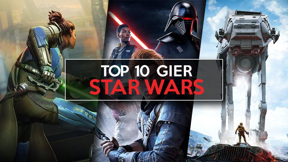 Top 10 gier Star Wars