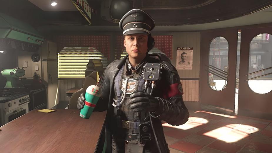Trailer nowego Wolfensteina mówi nam, że Hitler był świetnym malarzem