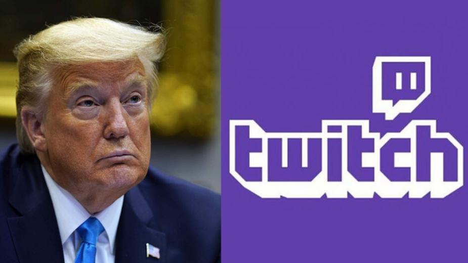Twitch zbanował kanał Trumpa za mowę nienawiści