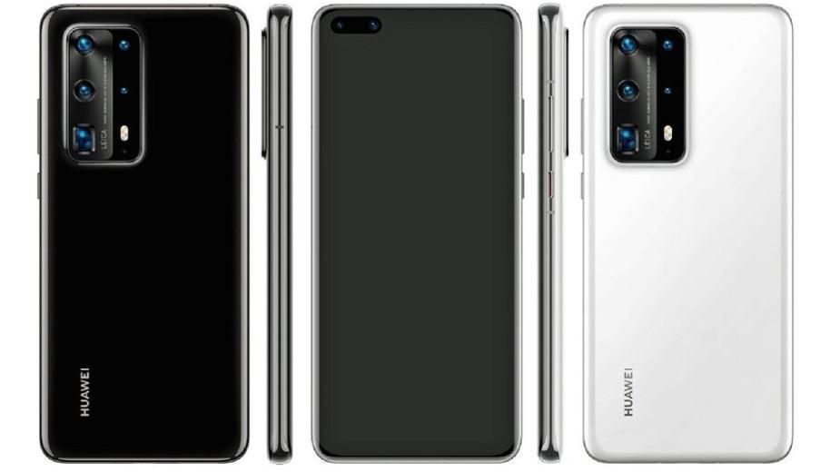 Wyciek specyfikacji Huawei P40 Pro PE: ogromna bateria i mnóstwo aparatów