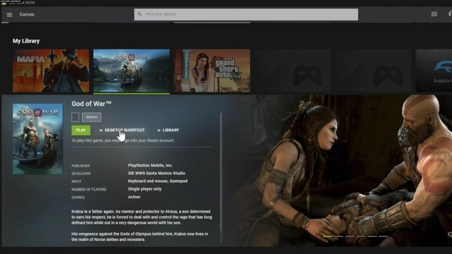 [AKTUALIZACJA] Wyciek z GeForce Now ujawnia dziesiątki nowych gier. Na PC zmierza choćby God of War