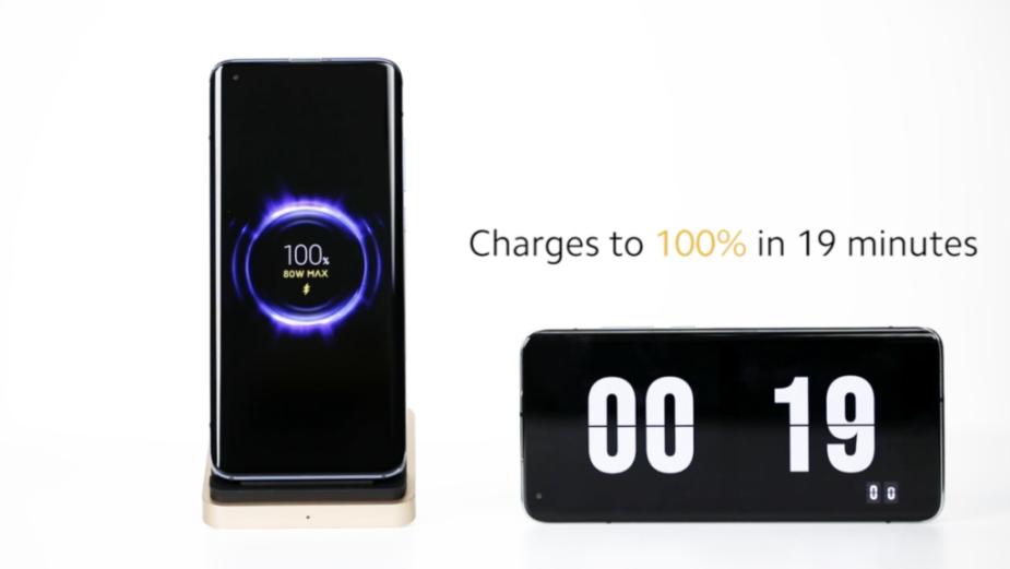 Xiaomi prezentuje rekordową szybką bezprzewodową ładowarkę o mocy 80 W