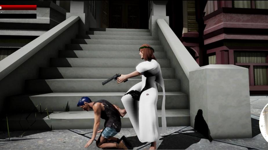 Zagraj Jezusem, który powraca by zabijać homoseksualistów i feministki